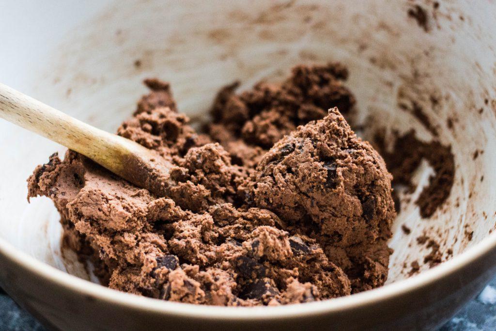 chocolate cake preparation