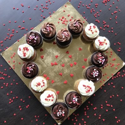 Valentine Cupcake Heart