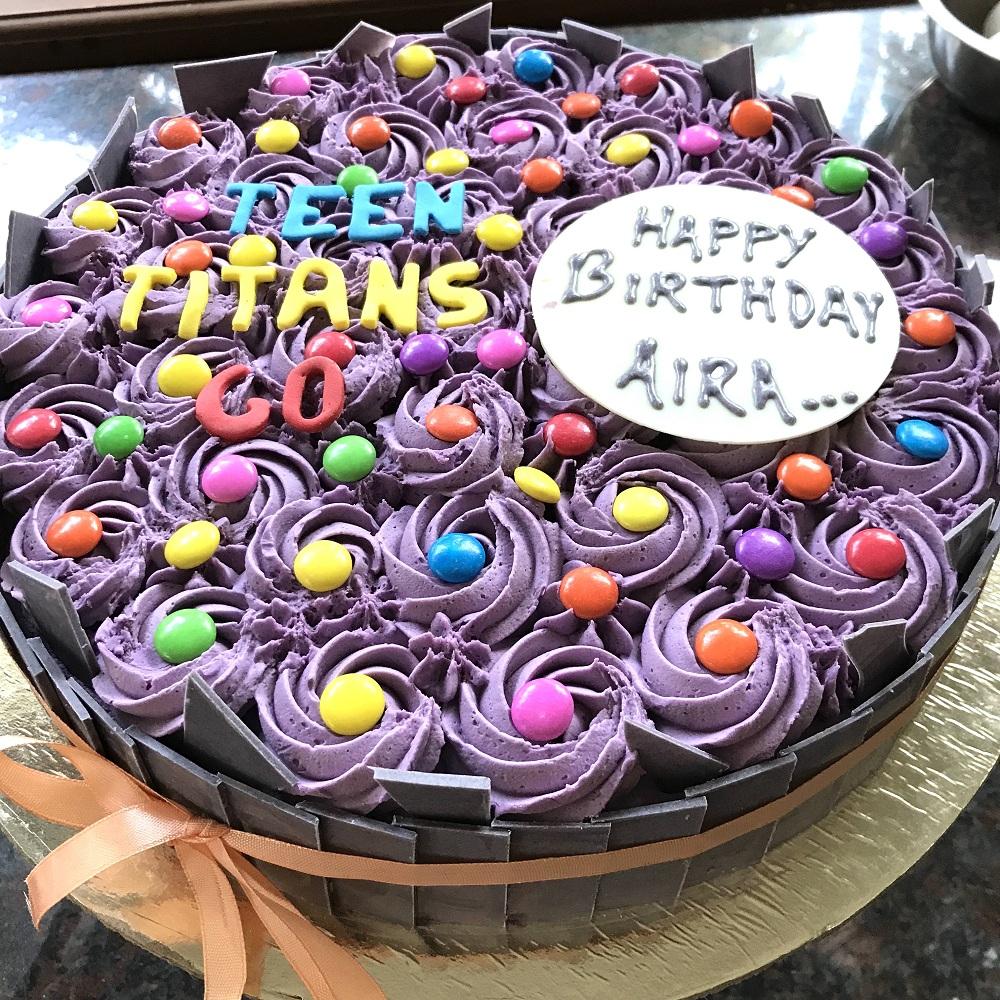 Teen Titans Go Gems Cake - Addicted